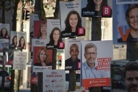 Valgplakater til Kommunalvalget 2017